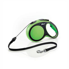 flexi New Comfort lanko, veľkosť M 8m/20 kg, zelená
