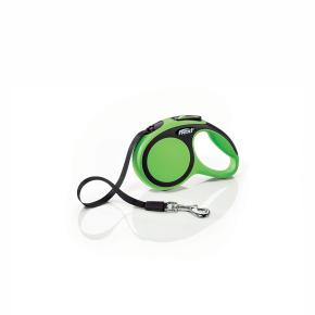 flexi New Comfort pásik, veľkosť XS 3m/12 kg, zelená