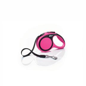 flexi New Comfort pásik, veľkosť XS 3m/12 kg, ružová