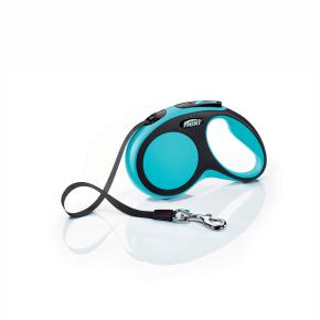 flexi New Comfort pásik, veľkosť S 5m/15 kg, modrá