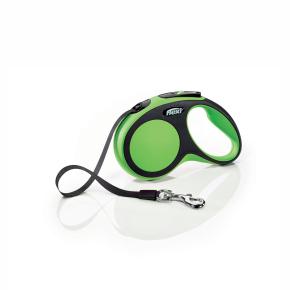 flexi New Comfort pásik, veľkosť S 5m/15 kg, zelená