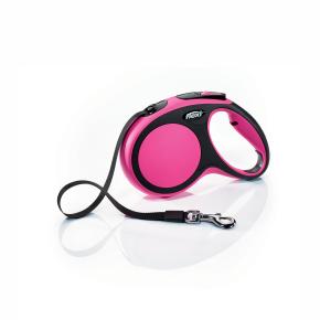 flexi New Comfort pásik, veľkosť M 5m/25 kg, ružová