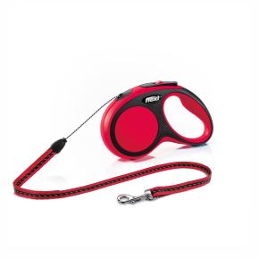 flexi New Comfort Cord (lanko), veľkosť S, červená