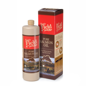 Lososový olej - Sam's Field Pure Salmon Oil 750ml