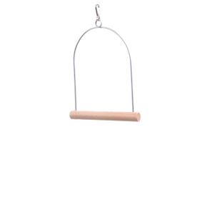 JK Vtáčie drevená stredná hojdačka 14x17 cm