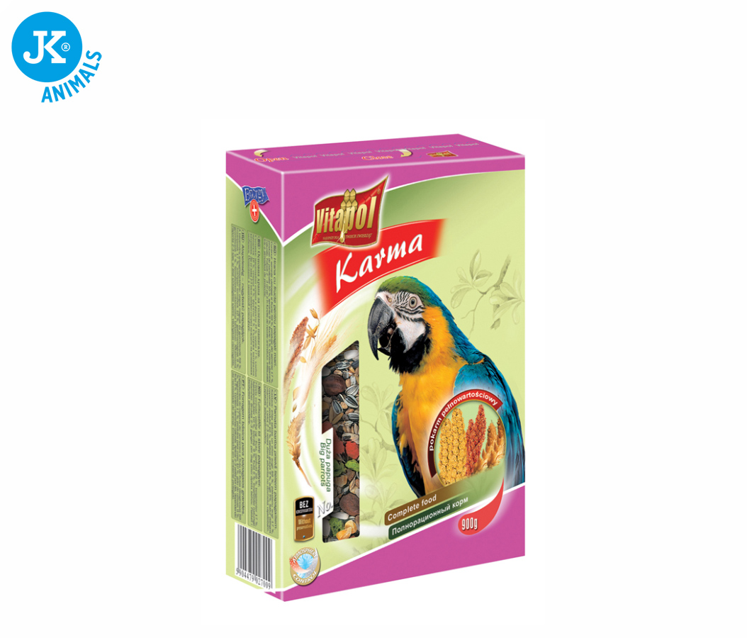 Vitapol - velký papoušek, 900g | © copyright jk animals, všechna práva vyhrazena