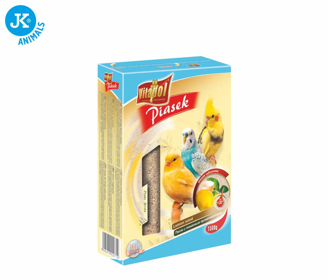 Vitapol - písek - citron, 1 500g | © copyright jk animals, všechna práva vyhrazena