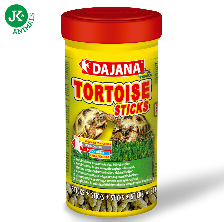 Dajana Tortoise sticks gran. 250ml | © copyright jk animals, všechna práva vyhrazena