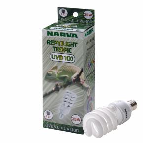 Reptilight Tropic UVB100 = UVB5.0/25W (Narva)